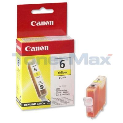 CANON BCI-6Y INK TANK YELLOW